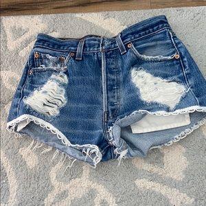 Vintage Furst Of A Kind High Rise Denim Shorts